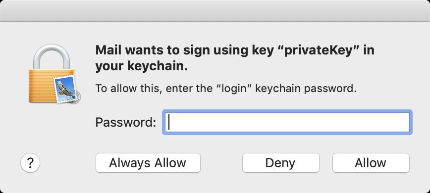 Password prompt