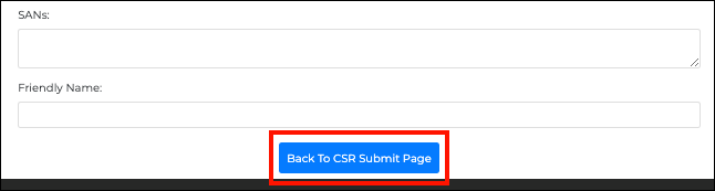 Back to CSR Submit Page