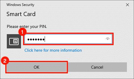 Enter PIN