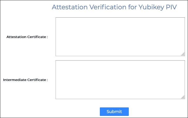 Attestation Verification