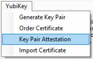 Key Pair Attestation