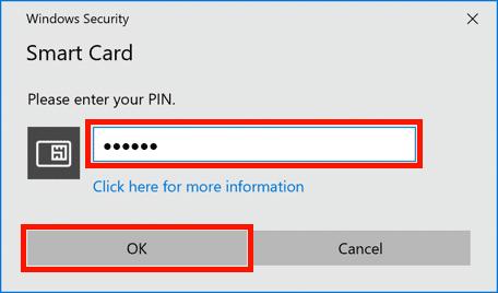 Enter YubiKey PIN